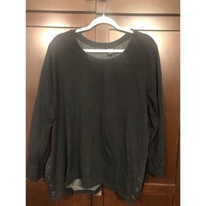 •• Torrid Oversized Black Sweater ••